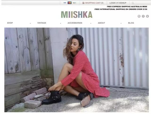 MIISHKA独立站推广