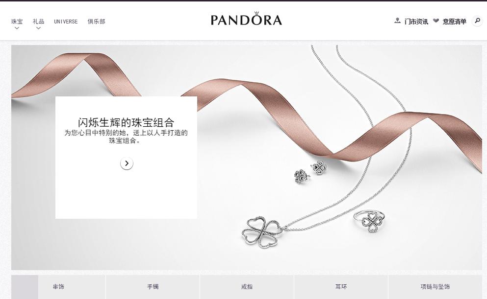 跨境电商Pandora
