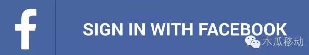 支持Facebook账号登陆