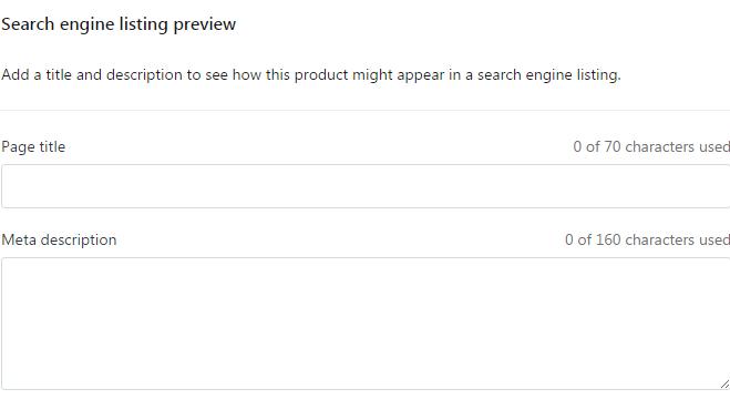Shopify SEO之关键词优化