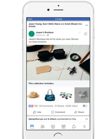 2017.10 月 Facebook 广告产品更新(电商篇)