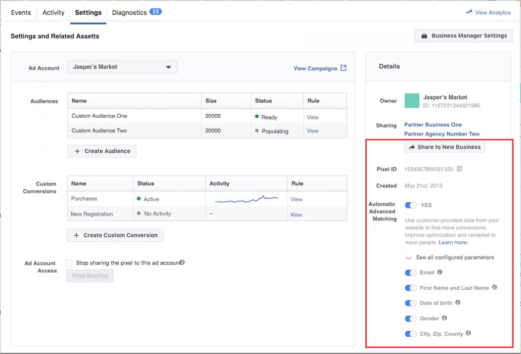 2018.8月Facebook广告产品更新(电商篇)