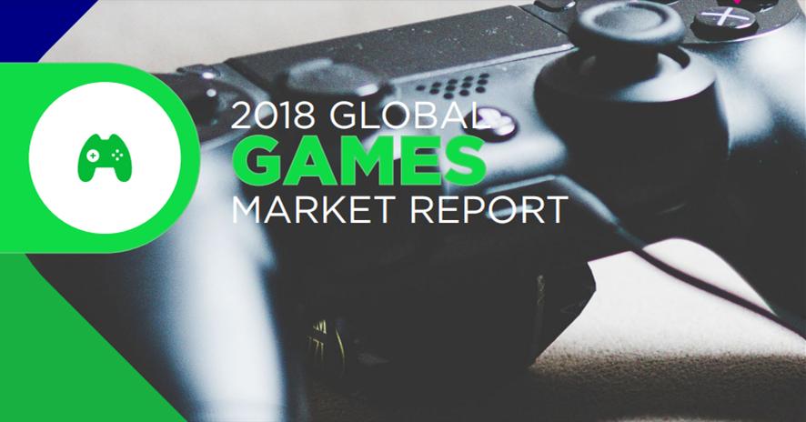 Newzoo白皮书:最新2018全球游戏市场数据!