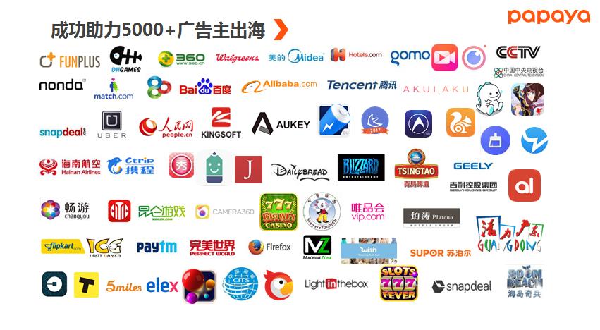 喜大普奔!Facebook2019中国出海领先品牌排行榜,木瓜移动多家合作伙伴入选50强!