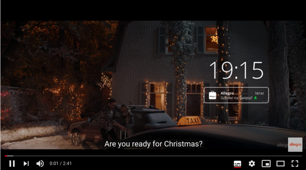 圣诞营销节日宣传视频