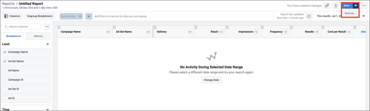 Facebook广告管理工具
