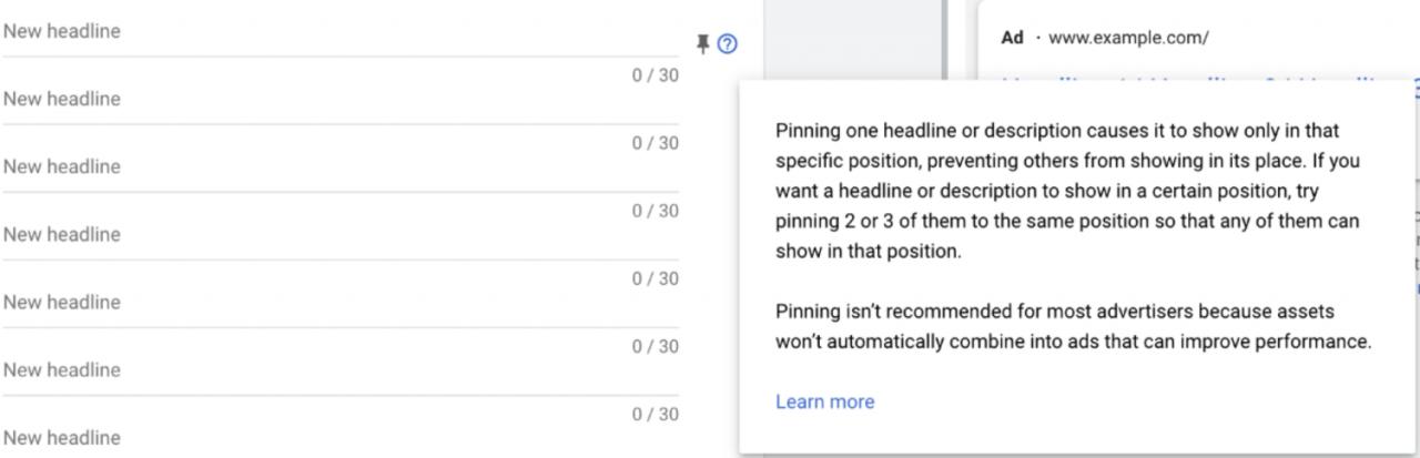 谷歌文字广告